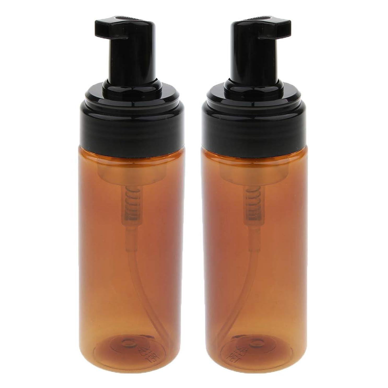 常に水例示するCUTICATE フォームボトル 液体発泡ディスペンサー ポンプボトル 石鹸ボトル 150ml 2本
