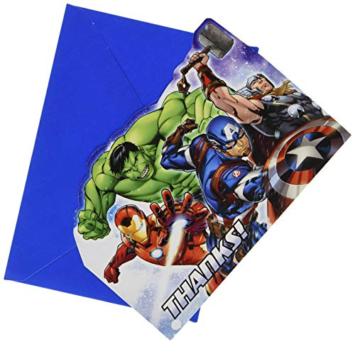 Avengers Thank You Cards (Pack of 8)