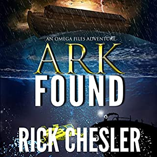 Ark Found: An Omega Files Adventure audiobook cover art