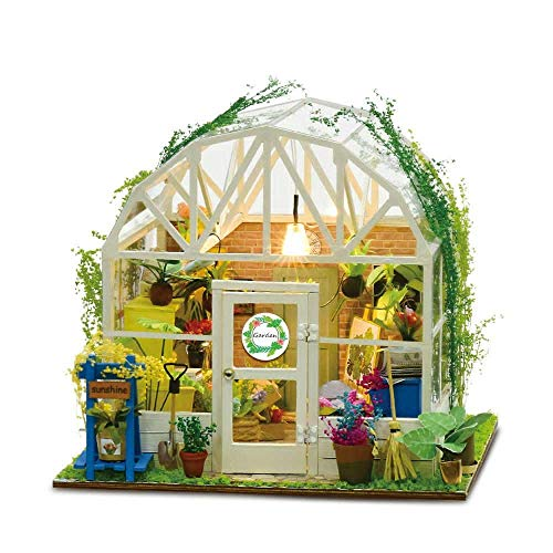 Taoke DIY Haus Romantic Flower House DIY Hand Assembled Art House Doll House One Size Puppenhaus Miniatur (Farbe: Mehrfarbig, Größe: Eine Größe) 8bayfa (Color : Multicolored, Size : One Size)