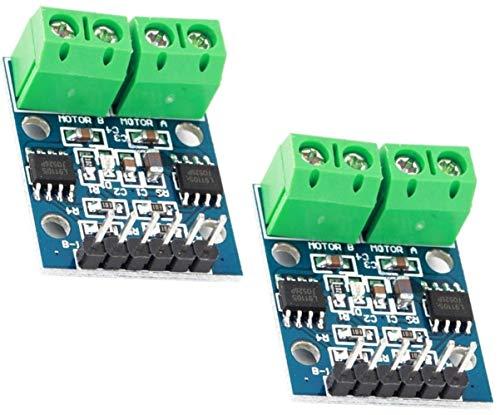 TECNOIOT 2pcs L9110S H-Bridge Dual DC Stepper Motor Driver Controller Board L9110 Module