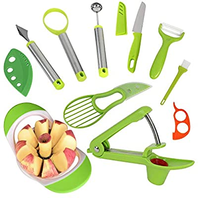 Premium Apple Slicer Cutter Corer Tool-Sharp St...