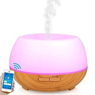 WLDOCA Wi-Fi Inteligente Difusor aceites Esenciales, Alexa y Control de Inicio de Google, 300ml vaporizador ultrasónico Hu...
