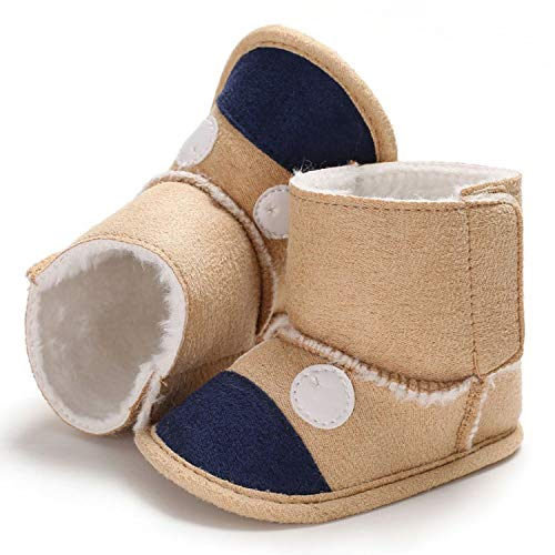 Winter Baby Cute Boots Soft Plush Booties Infant Girls Boys Anti Slip Snow Boot Keep Warm Cute Crib Shoes