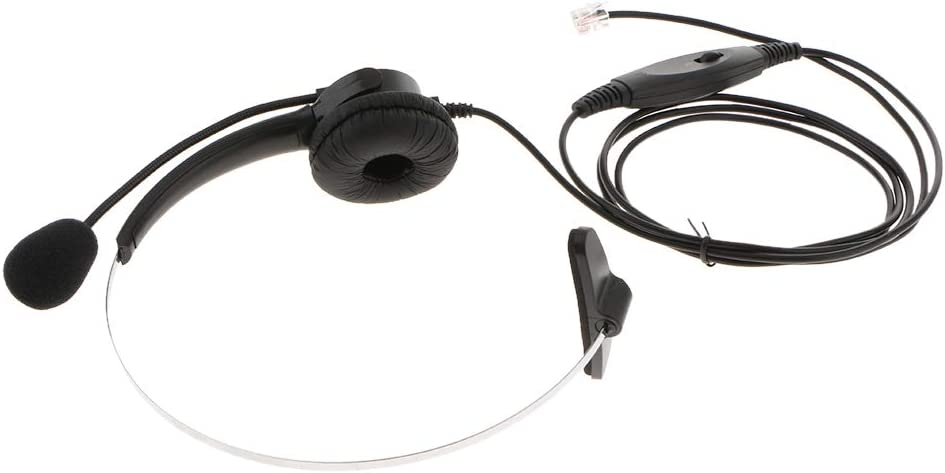 Homyl Call Center Hands-Free Headset Portland Year-end gift Mall with Mircroph Mic Headphone