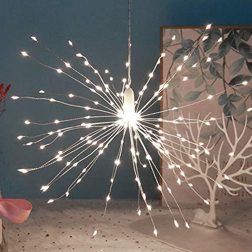 Eastar Holiday Home Decor Starburst - Guirnalda de luces LED