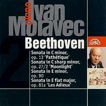Beethoven: Sonatas Pathétique, Moonlight & Les adieux