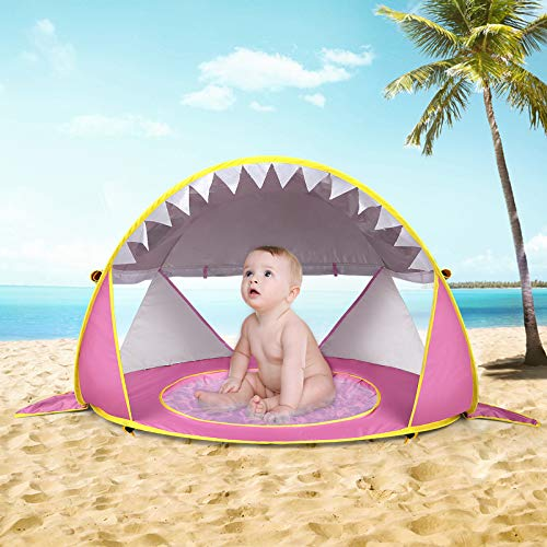 Tienda De Campaña Rosa  marca Free Swimming Baby
