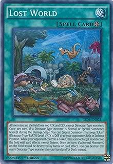 Lost World - SR04-EN021 - Super Rare - 1st Edition - Structure Deck: Dinosmasher's Fury (1st Edition)
