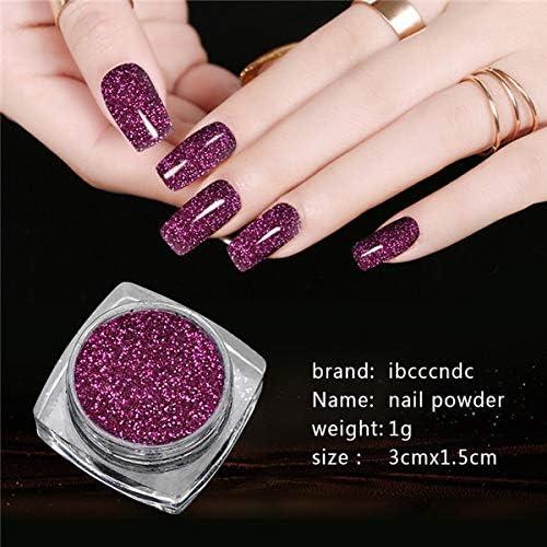 Gabcus 1g Box Holographic Glitter Mirror Nail store Glitt Powder Colorado Springs Mall Laser