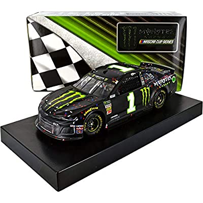 Lionel Racing Kurt Busch 2019 Kentucky Win Monster #1 Raced Version NASCAR Diecast Car 1:24 Scale