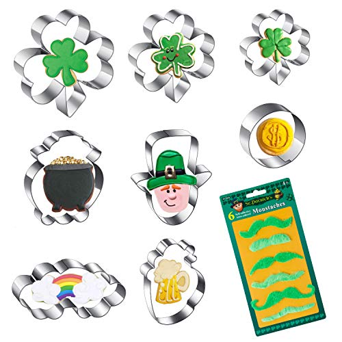 St.Patrick's Day Cookie Cutter Set