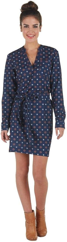 Mud Pie Womens Gia Tunic Shirt Dress Long Sleeves