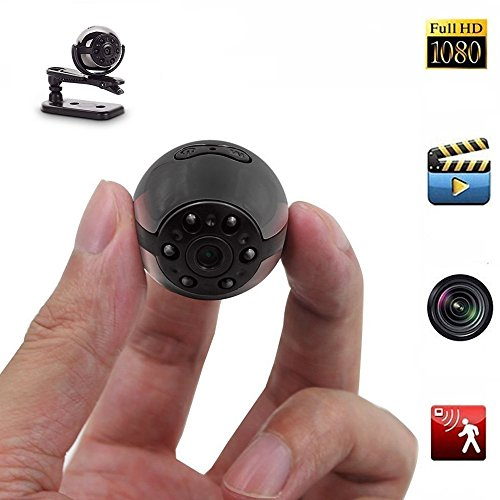 Mini DV Camera,1080P/720P Full HD 6 LED Infrared Night Vision Motion Detection Portable Camera (1 Pack)