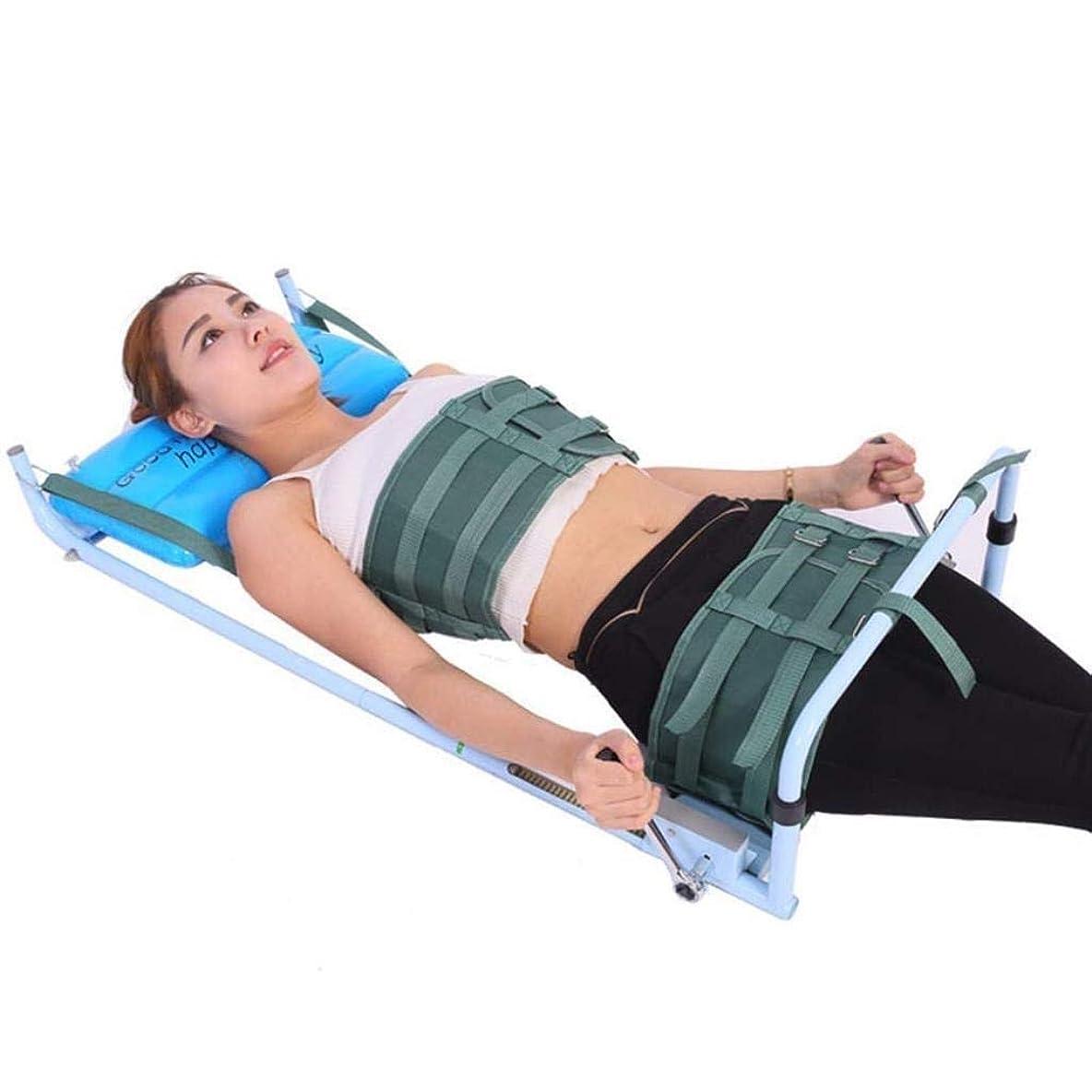 ローズ枕遅滞矯正装置、腰椎牽引装置、子宮頸部ストレッチストレッチャー装置、改善された脊椎姿勢装具