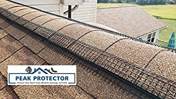 Peak Protector Roof Ridge Vent Exclusion Guard Cover