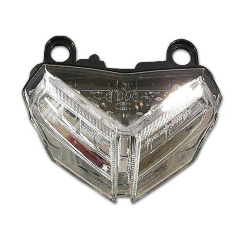 Motorrad LED Rücklicht Ducati 848 -12 / EVO -13, 1098 S -08 1098 R 08-09 / 1198 S 09-11, klar, E-geprüft