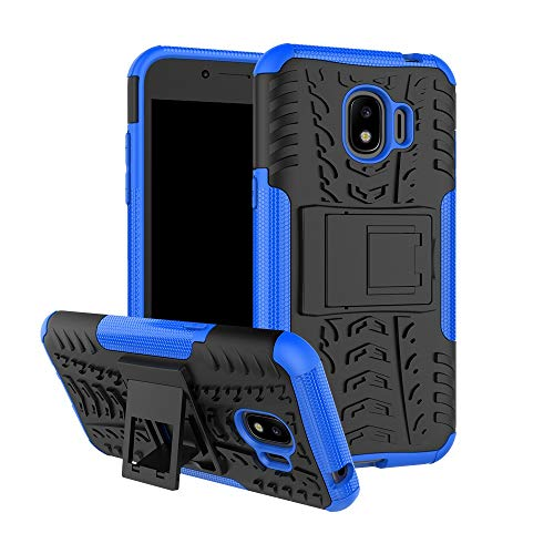 Xingyue Aile Covers y Fundas Para Samsung Galaxy Gran Primer Pro, Para trabajo pesado blindaje duro de silicona suave cubierta del soporte Para Samsung J2 2018 SM-SM-J250F J250F / DS ( Color : Blue )