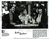 Historic Images - 1997 Press Photo Tim Reid Rolanda Watts and Jackee Harry in Sister Sister
