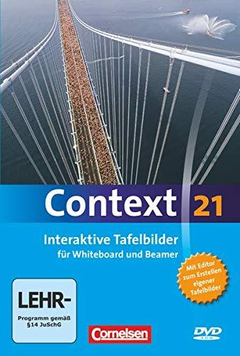 Context 21 - Zu allen Ausgaben: Interaktive Tafelbilder für Whiteboard und Beamer: DVD-ROM