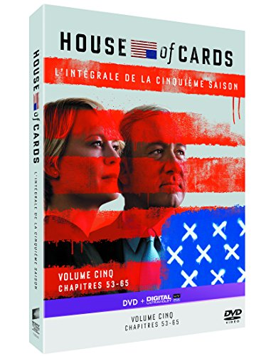 House of Cards-Saison 5 [DVD + Copie Digitale]