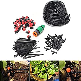 Watering Kits - 25M DIY Micro Drip Irrigation System Automatic Watering Garden Hose Micro Drip Garden Watering Kits with A...