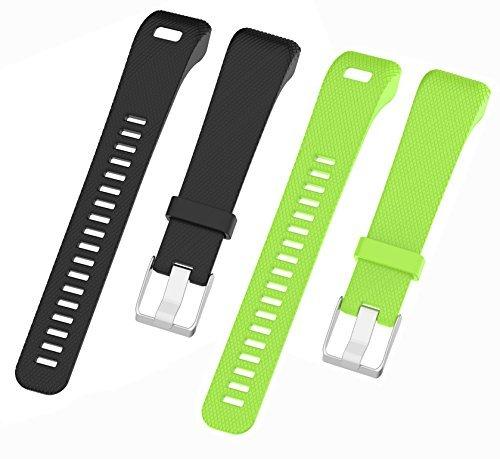 WEINISITE Armband für Garmin vívosmart HR +, Soft Silikon Ersatzarmband für Garmin vívosmart HR Plus