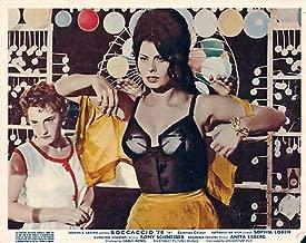 BOCCACCIO '70 Original Lobby Card Sophia Loren Sexy Underwear LUCHINO VISCONTI