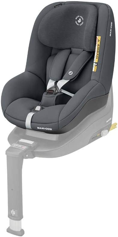 Maxi-Cosi Pearl Smart i-Size Toddler Car Seat, 6 Months - 4 Years, 9-18 kg, 67-105 cm, Authentic Graphite: image