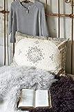Jeanne d´Arc living Kissen Dekokissen Cushion Dusty Flower 50x70cm