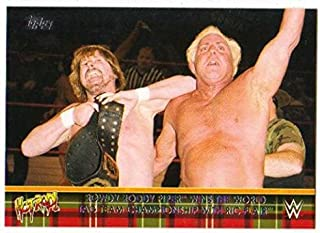 2018 Topps WWE Then Now Forever WWE Hall of Fame Rowdy Roddy Piper Tribute Wrestling #38 Wins the United States Champion Official World Wrestling Ente