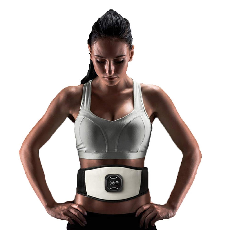 好色な病な熱スマートワイヤレス腹筋ペーストEMS筋肉刺激装置薄い腹部腹部マシンUSB電気ベルト腹部機器全身体重減少運動フィットネス機器ユニセックス