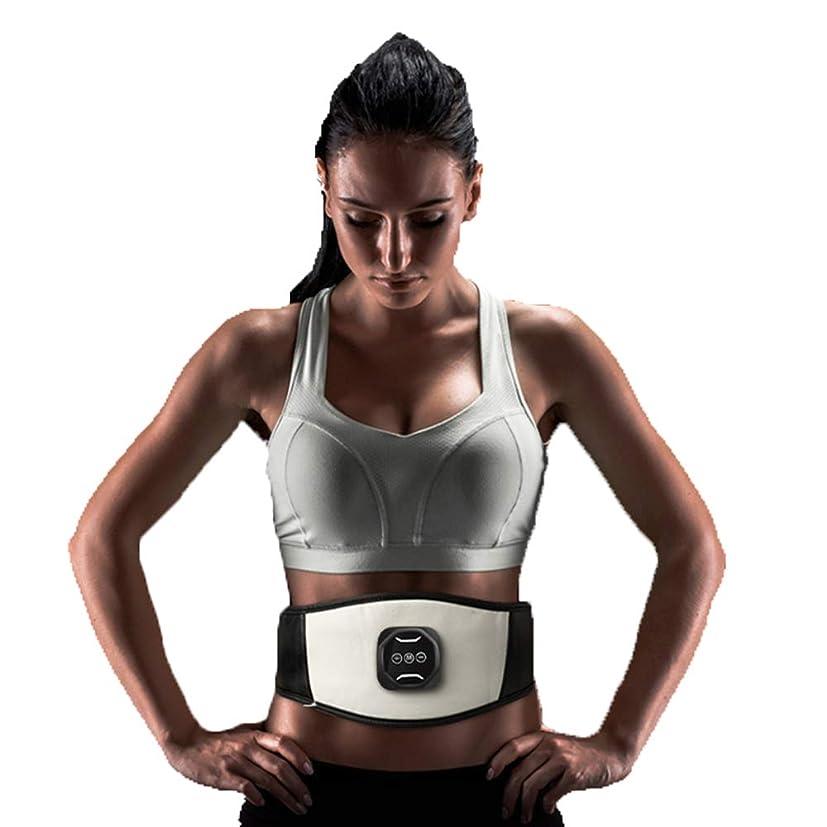 アルカトラズ島シンプトンクラウンスマートワイヤレス腹筋ペーストEMS筋肉刺激装置薄い腹部腹部マシンUSB電気ベルト腹部機器全身体重減少運動フィットネス機器ユニセックス