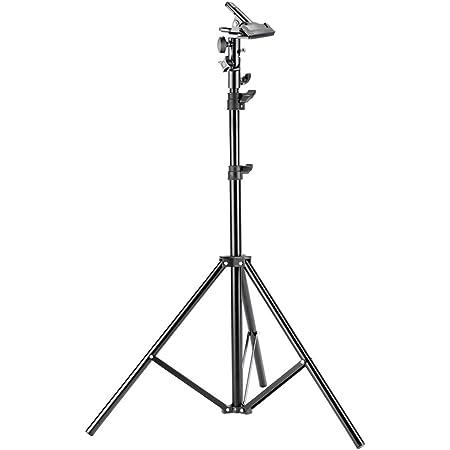 Neewer 6ft/190cm写真スタジオ撮影用ライトスタンド ヘビーデューティ金属製クランプホルダー付き レフ板などに対応