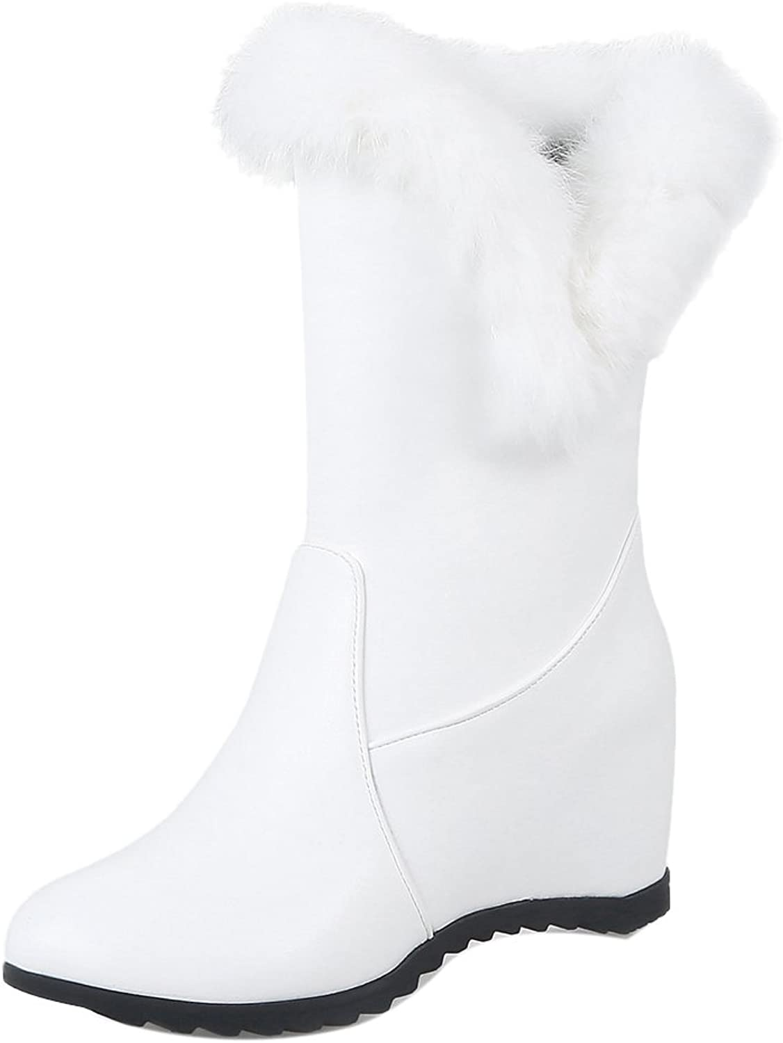 TAOFFEN Women's Pull On Boots