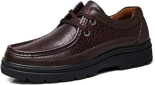 2018 Richelieus Homme, Chaussures de Ville, Chaussures de Ville, Ville, Ville, Chaussures de Sport, Décontracté (Couleur   Marron foncé, Taille   49 EU) 23b