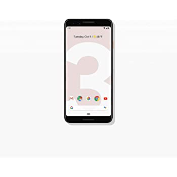 Google Pixel 3 (64GB, 4GB RAM) 5.5 QHD+, IP68 Water Resistant, Snapdragon 845 GSM/CDMA Factory Unlocked (AT&T/T-Mobile/Verizon/Sprint) (Not Pink)
