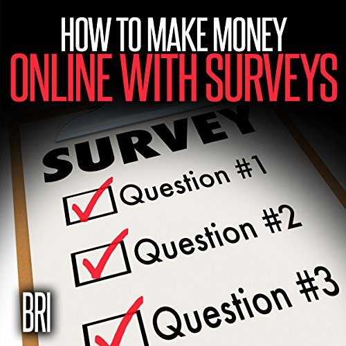 How to Make Money Online with Surveys audiobook cover art