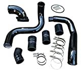 Turbo Intercooler Pipe Boot Kit CAC Tube Hi FLow Intake Elbow for F250 F350 F450 F550 Excursion Powerstroke Diesel 6.0L V8