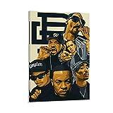 MZNE 2pac Ice Cube Snoop Dogg Eminem Poster Dekorative