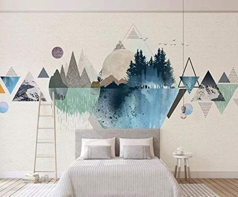 3d wallpaper abstrakt beige geometrisch minimalistisch modern tapeten für wohnzimmer schlafzimmer tv wanddekor, 400  280cm