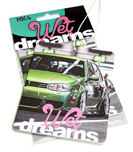 Wet Dreams MK 4 Auto Duftbaum Lufterfrischer Air Freshener - Dub (Duft: Tropical)