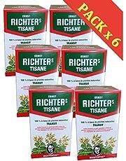 Richtertee kruidenthee, 100% op basis van natuurlijke planten, voor de spijsvertering – 6 dozen
