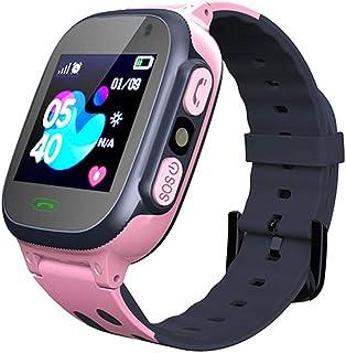 Smartwatch voor kinderen LBS Tracker Smartwatch met zaklampen Anti-verloren spraakchat voor jongens Meisjes Verjaardagscad...