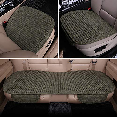 Linnen Seat kussen pad voor, anti-slip ademende driver bekleding vier seizoenen ergonomisch