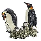 Gadpiparty Conjunto de Figuras de Juguete de Animales Polares Figuras de Pingüino Figura de Animal Salvaje Juguete Realista Animales Salvajes del Zoológico Figuras Educativas Regalo para