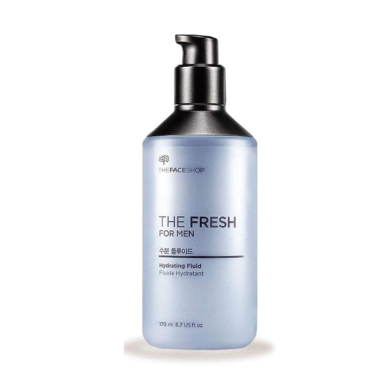 パイロット狂った許すザ?フェイスショップザ?フレッシュフォーマン水分?プルルイドゥ170mlのメンズコスメ、The Face Shop The Fresh For Men Hydrating Fluid 170ml Men's Cosmetics [並行輸入品]