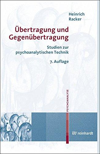 Übertragung und Gegenübertragung. Studien zur psychoanalytischen Technik