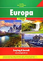 Europe Road Atlas 1:700 000