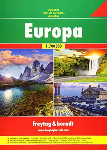 Freytag Berndt Autoatlanten, Europa - Maßstab 1:700.000: Wegenatlas 1:700 000